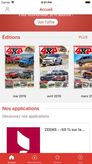 Génération 4x4 Magazine Screenshot