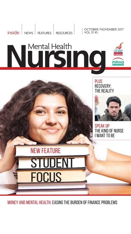 Mental Health Nursing Journal screenshot-8
