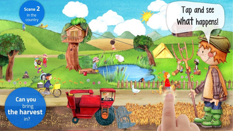 Tiny Farm: Animals & Tractor