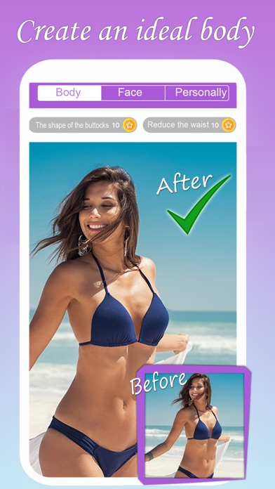 LookMe - Body, Face Retouch Me