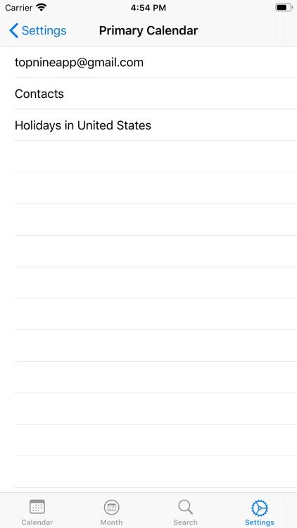 WatchCal for Google Calendar screenshot-6