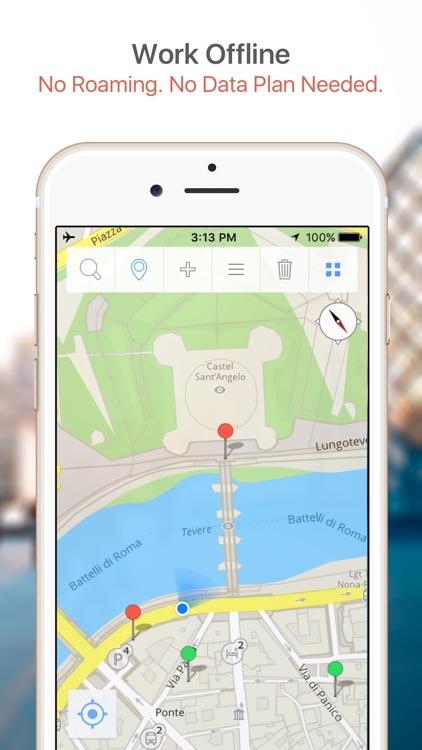 Savannah Map & Walks (F)
