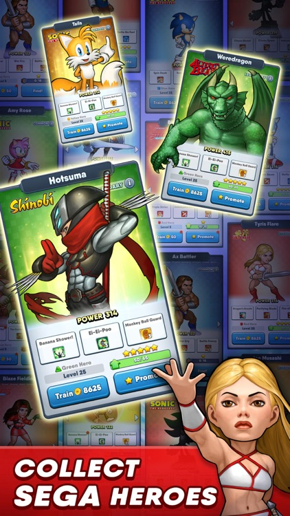 SEGA Heroes: RPG Match 3 Games