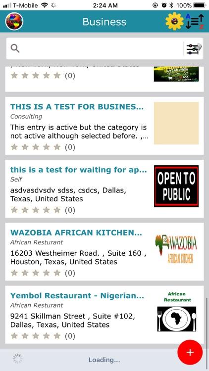 Ebeano - Nigerian Events & Biz screenshot-3