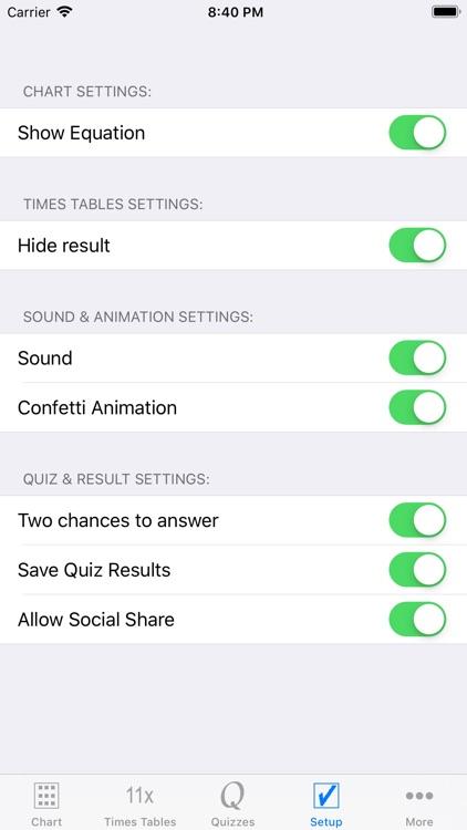 Multiplication Times Tables II screenshot-5