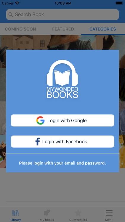 MyWonderBooks screenshot-4