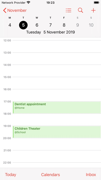 Calendar Synchronization screenshot-1
