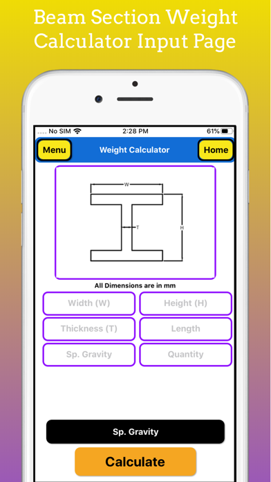 Fabrication Weight Calculator screenshot 5
