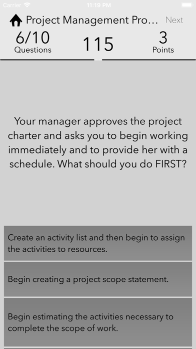 Screenshot for PMP Advanced in Ukraine App Store