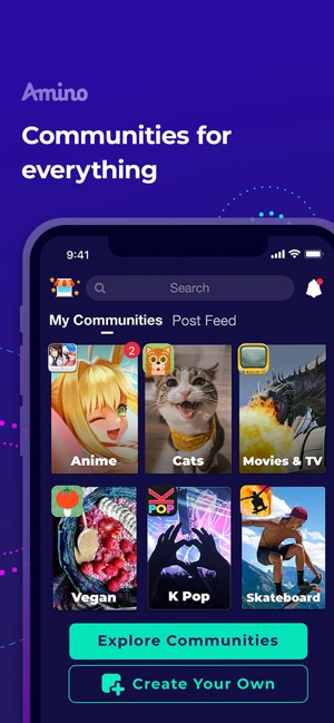 Amino: Communities and Groups on the App Store