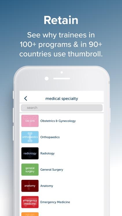 thumbroll: Medical Training screenshot-3