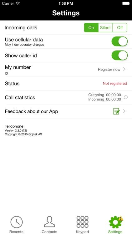 Teliophone screenshot-3