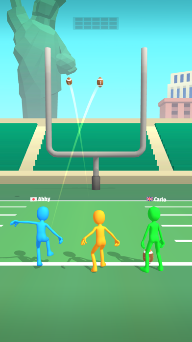Five Kicks! screenshot 2