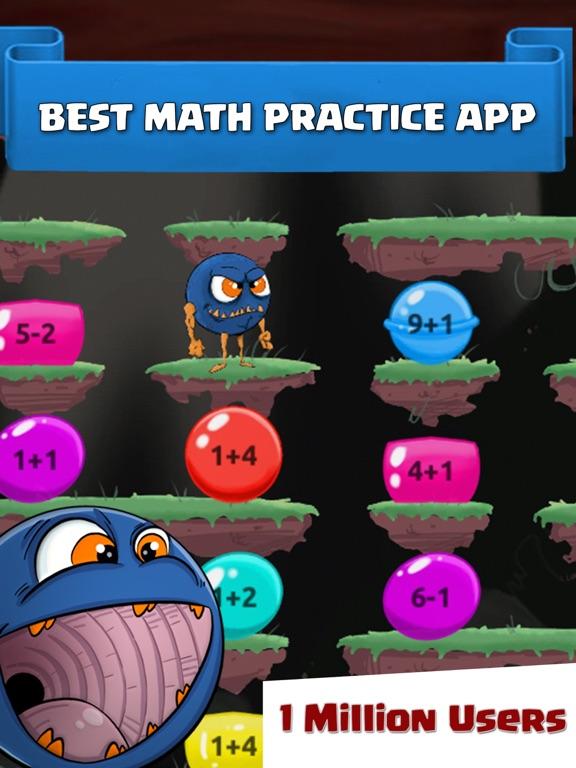 Monster Math School: Fun Gamesのおすすめ画像1