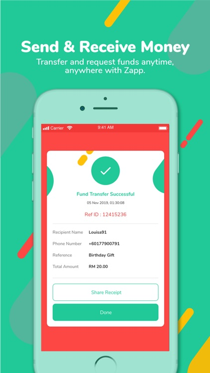 Zapp - Your Everyday e-Wallet screenshot-5