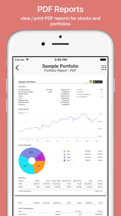 Finabase: Investing Stocks screenshot-3
