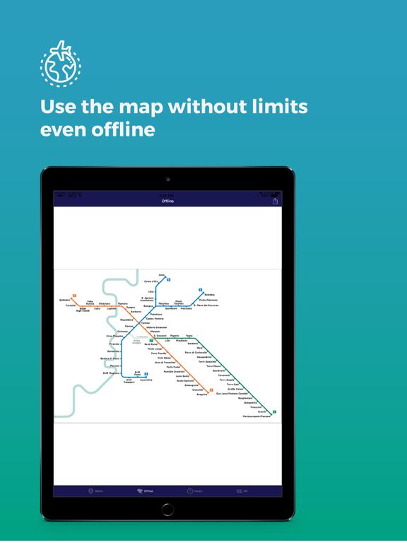 Metro Rome: timetables & lines screenshot 11
