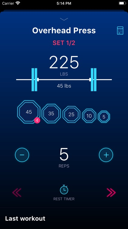 Stacked - Workout Tracker for