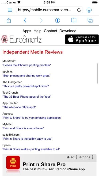 Print n Share Pro for iPhone screenshot-5
