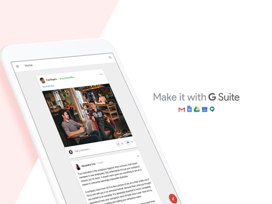 Google+ for G Suite-ipad-4