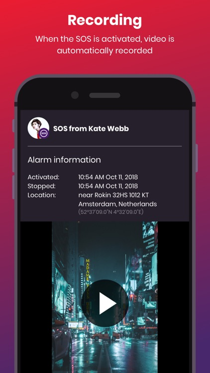 bSafe - Personal Safety App
