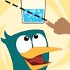 Stupid Bird - Cut it Puzzles