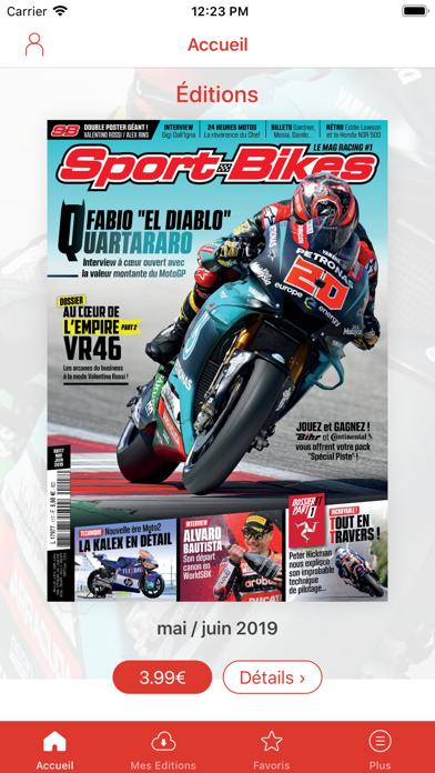 Sport-Bikes Magazine Screenshot