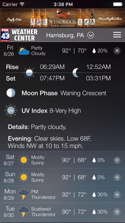 FOX43 Harrisburg Weather screenshot-3
