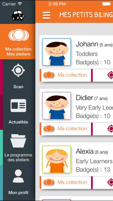 Screenshot #3 pour Les Petits Bilingues