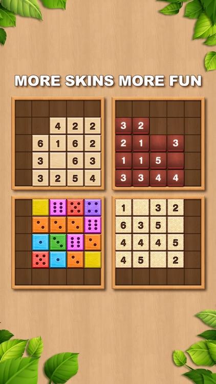 TENX - Wooden Number Puzzle screenshot-3