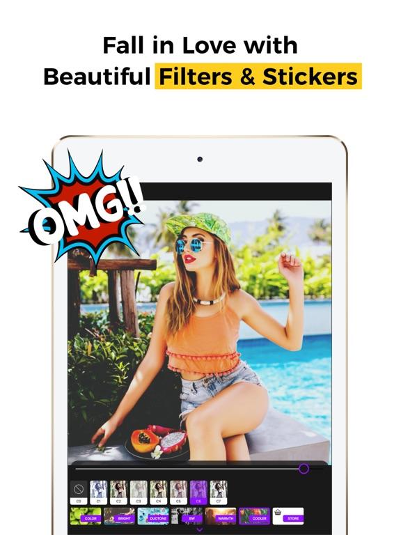 PICFY PRO Photo Editor & Grids Screenshots
