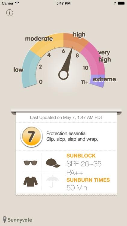 UVmeter - Check UV Index screenshot-1
