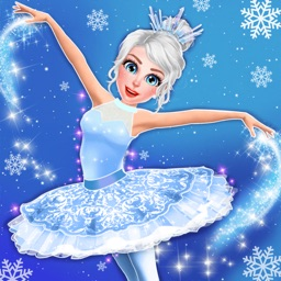 Ice Ballerina Skating Dance