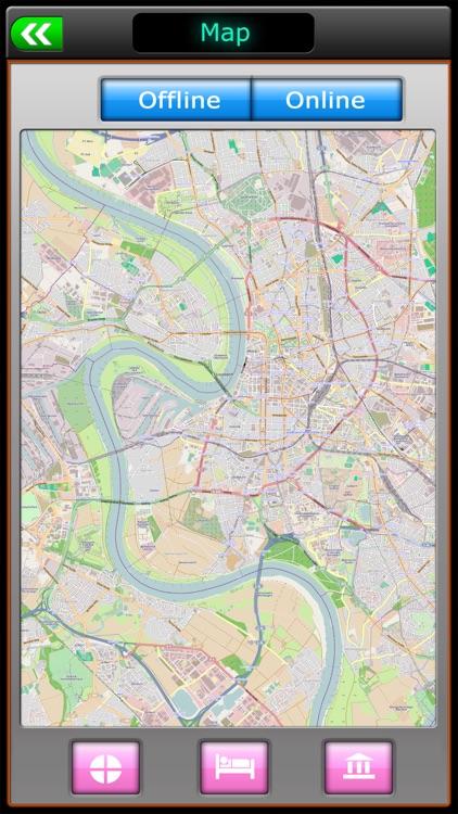 Dusseldorf Offline Map Guide screenshot-3