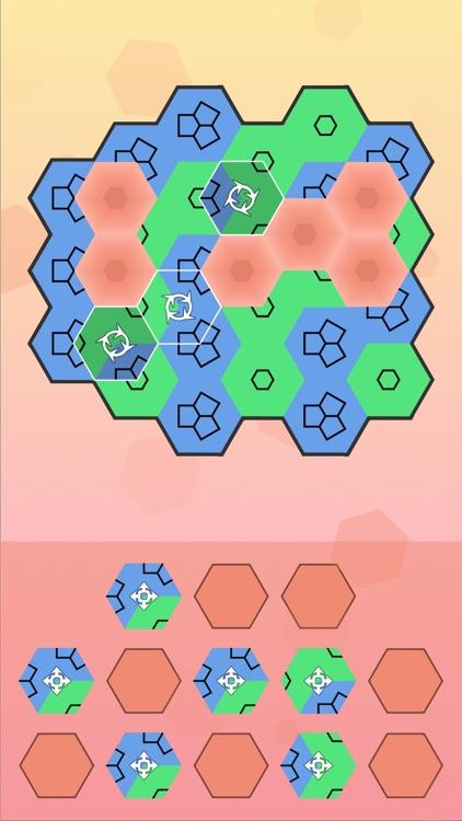 Aurora Hex - Pattern Puzzles screenshot-0