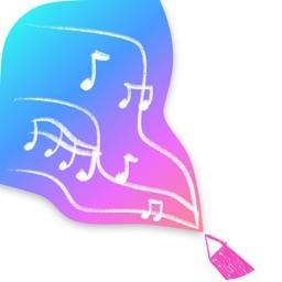Music Brush -Augmented Reality