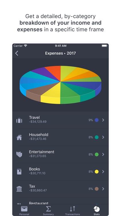 Finances - Money Tracker screenshot-4