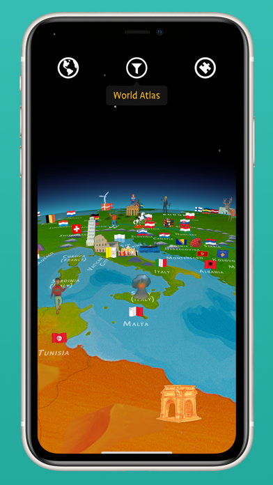 Screenshot for Barefoot World Atlas in Philippines App Store