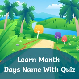 Month & Days Name With Quiz
