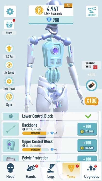 Idle Robots - Robo Clicker screenshot-4
