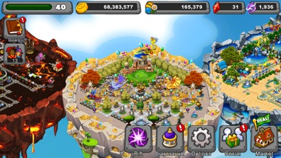 Screenshot from DragonVale