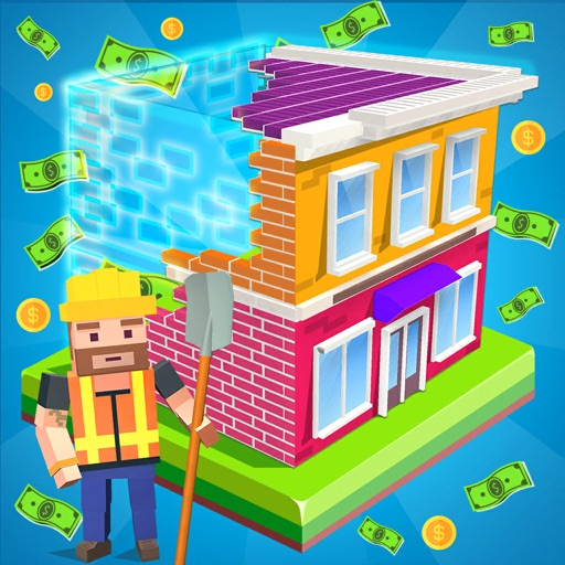 Idle Construction 3D free software for iPhone and iPad