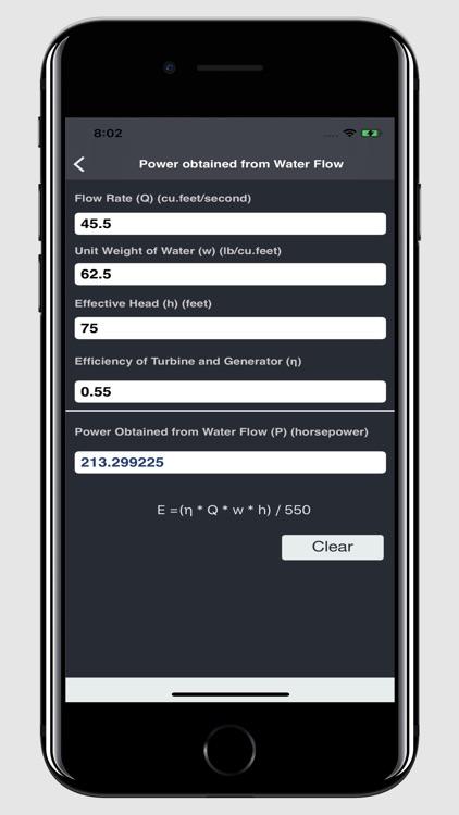 Waterworks Calculations screenshot-3