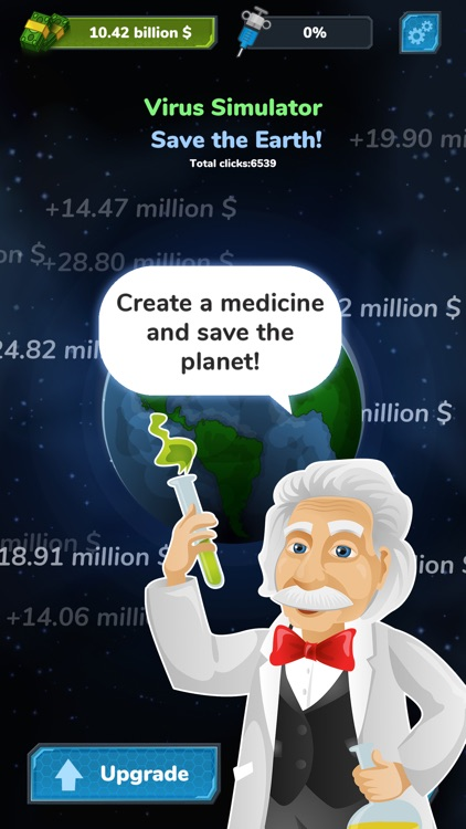 Virus Fighter: Save the Earth!