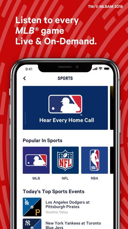 TuneIn: NBA, Radio & Podcasts screenshot-9
