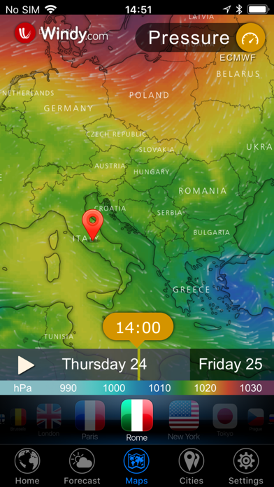Screenshot #3 pour 3D Earth - widget météo