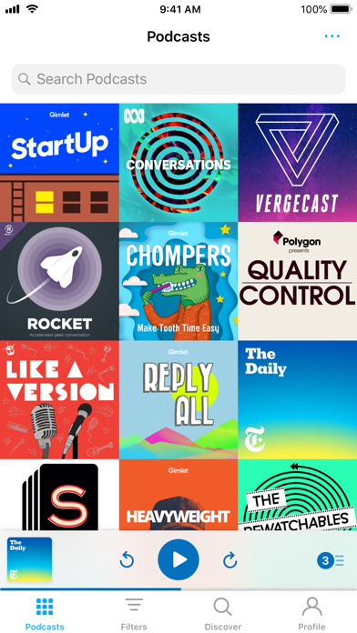 Pocket Casts Screenshots