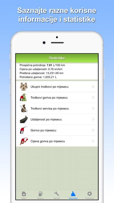 Potrošnja goriva Screenshots
