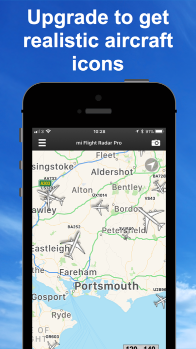 フライト レーダー 専門家 - Fligh... screenshot1