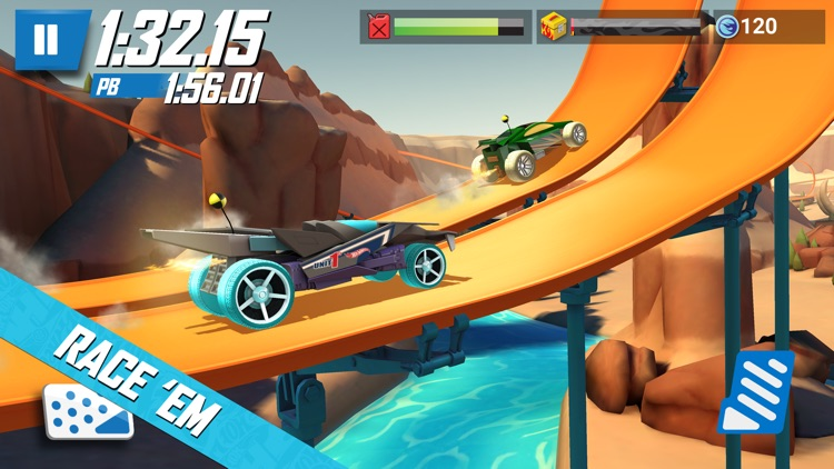 Hot Wheels: Race Off screenshot-0